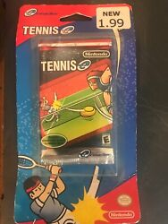 Tennis for E Reader GBA Game Boy Advance ✅Brand New Sealed ✅Rare $14.99