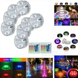 Submersible LED Bulb Underwater Light RGB Fountain Swimming Pool Lamp Remote US $9.99