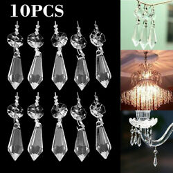 10Pcs 38mm Clear for Crystal Prisms Hanging Pendant Chandelier Lamp Home Decor. $4.99