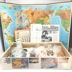 Axis & Allies Gamemaster Series Board Game Strategy 1984 150+% Complete! $79.99