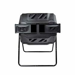 Large Composting Tumbler Dual Rotating Outdoor Garden Compost Bin BPA Free Easy $142.99