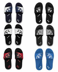 Under Armour Mens Ignite VI Slide Athletic Sandals Flip Flop -Pick Color  $26.95