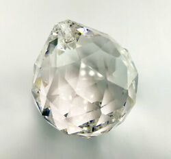 Set of 5 40 mm Chandelier Crystals Parts Clear Crystal Ball Prisms #701 $18.99