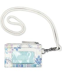 The Sak Women's Silverlake Id Lanyard Card Case - Stone Flowing Floral $19.25