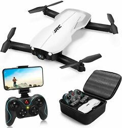JJRC H71 GRUS Foldable Drone 1080p HD Camera Drone with 2 Batteries USA Seller $118.97