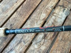 Falcon Expert Plug and Bait Casting Rod Made in USA $61.00