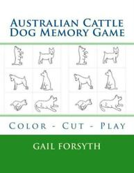 Australian Cattle Dog Memory Game: Color Cut Play $11.99
