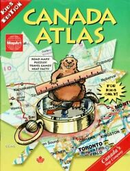 CANADA ATLAS : KIDS EDITION By Canadian Cartographics Corporation **BRAND NEW** $24.75