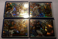1995 Topps Stadium Club Ring Leaders set of 4 cards $11.00
