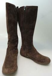 WOMEN#x27;S MERRELL Blazing Star KNEE HIGH LEATHER BOOTS SHOES SIZE 8 38.5 Brown $69.99