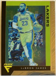 2019-20 Panini Chronicles LEBRON JAMES Flux High Number SP Short Print #591 $79.99