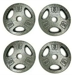 CAP 5 LB Barbell Weight Plates 1