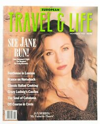 European Travel and & Life November 1989. Great Ads Fashion Articles See Pics  $21.95