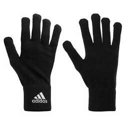 Adidas Gloves Knitted Winter Gloves Men#x27;s Knitted Black 907 033 $20.26