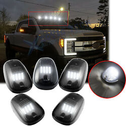 5x Smoked Lens LED Roof Lamp Rooftop Driving Lights for Ford F 150 F 250 F 350 $54.88