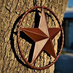 Rustic Dimensional Barn Star 12quot; Country Farmhouse Home Decoration $24.97