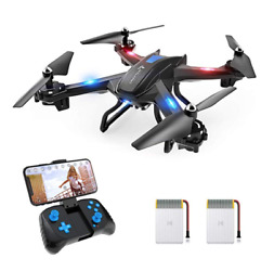Drones With Camera For Adults Kids Quadcopter Live Video Long Range Blade 720 $96.98