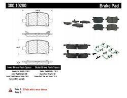 StopTech For 2007 2010 Saturn Sky Disc Brake Pad Set 300.10280 $38.34