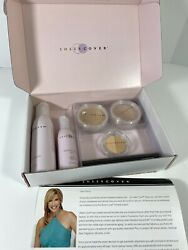 New Sheer Cover Makeup amp; Skincare Set Duo Concealer Mineral Foundation $119.99
