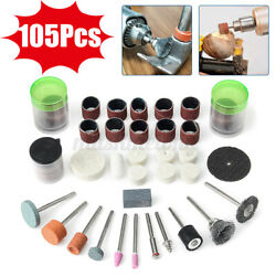 105Pcs Multi function Electric Grinding Components Set Speed Drill for Polishing $8.93