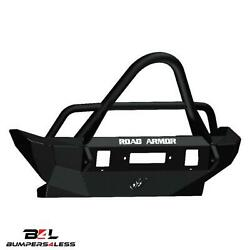 Road Armor 5072F5Z Fnt Stelth Seris Mid With Raw Wich HD Bmpr for 07 18 Wrangler $1154.77