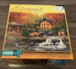 Buffalo Puzzle ESCAPES The Colors of Life 1000 pc by Chuck Pinson $19.50
