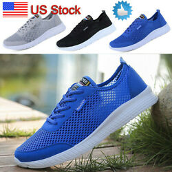Men#x27;s Summer Beach Water Shoes Mesh Sneaker Quick Dry Surfing Walking Trekking $22.31