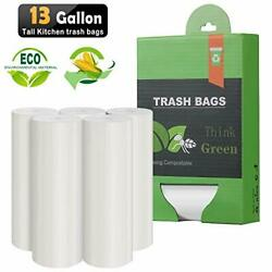 13 15 Gallon Tall Kitchen Trash Bags Compostable Trash bags 1.18Mils Unscente... $26.17
