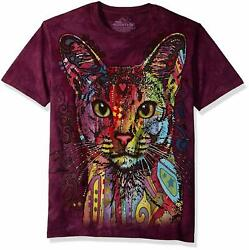 The Mountain Abyssinian Cat Dean Russo Artist T Shirt Adult Sizes S 3XL $24.95