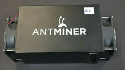 Used BitcoinMiner Bitmain Antminer S3 No PSU 440 GH s untested for parts #1 $49.95