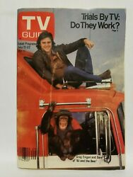 TV Guide 1979 July 21 Greg Evigan amp; Sam of BJ and the Bear TV#x27;s Beer Wars $16.99