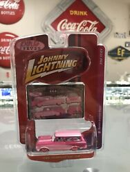 JOHNNY LIGHTNING PINK FEVER RAMBLER AMERICAN WAGON LIMITED ED FACTORY NEW 10042 $20.00