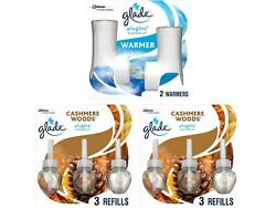 Glade PlugIns Scented Oil amp; Holders Cashmere Woods 319965 $28.68