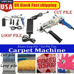 Electric Carpet Tufting Gun Loop Pile Cut Pile Carpet Weaving Machine 10000r min $137.99