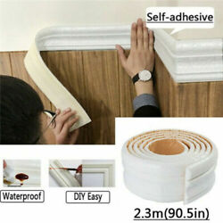 Waterproof 3D Wall Border Wall DIY Decor Sticker For Home Kitchen Bedroom $6.99