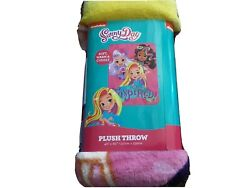 Plush Throw Blanket Sunny Day Inspired 46quot;By 60quot; Soft Warm Cuddly Kids New $18.17