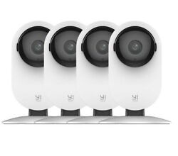 YI 4pc Home Camera 1080p Wireless IP Security Surveillance System Night Vision $65.99