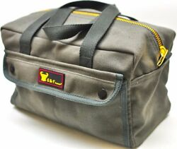 10095 Government Issued Style Mechanics Heavy Duty Tool Bag with Brass zipper... $12.81