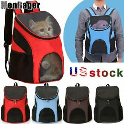 Outdoor Portable Pet Carrier Backpack Dog Cat Zipper Mesh Breathable Packbag US $14.98