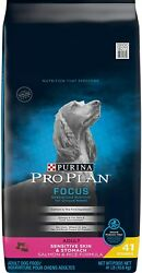 Purina Pro Plan Sensitive Skin amp; Stomach High Protein Adult Dry Dog Food amp; Wet D $55.32