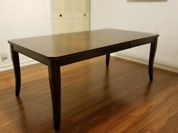 BARRACKVILLE EXTENDABLE CHERRY WOOD DINING ROOM TABLE ONLY NEW $650.00