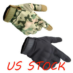 Cycling Gloves Tactical Glove Military Combat Airsoft Outdoor Full Finger Gloves $12.99