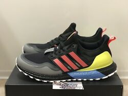 Adidas Ultra Boost All Terrain Running Black Red Yellow EG8097 NMD Mens Size $100.00