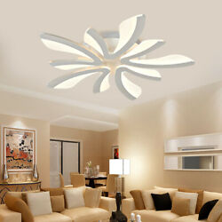 Modern LED Chandelier Dining Room Ceiling Light Acrylic Pendant Lamp Fixtures US $54.04