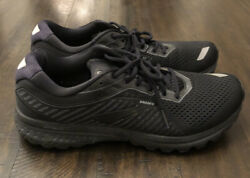 Brooks Ghost 12 Mens Running Shoes Black Size 12 $79.99