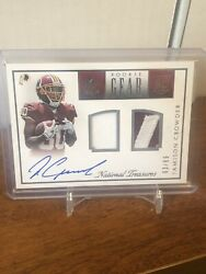 2015 National Treasures Jamison Crowder Rookie Gear Auto 2 clr Jersey Rc # to 99 $19.99