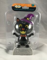 Rite Aid LARGE SOLAR DANCING HALLOWEEN CAT 6quot; Tall NEW IN PACKAGE