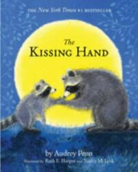 The Kissing Hand by Audrey Penn 1993 Hardcover with stickers New $7.49