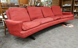 Vintage Eames Mid Century Danish Modern Floating Sofa Couch $500.00