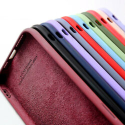 Phone Case For iPhone 13 11 Pro Max 12 Pro X XS XR SE 8 7 Liquid Silicone Cover $2.99